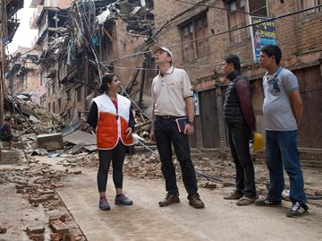 Oakville's Michael Messenger gets firsthand look at devastation in Nepal