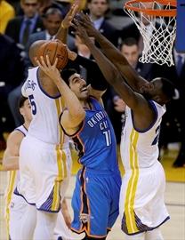 CP News Alert: Warriors advance to NBA final