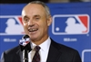 Manfred knows he'll get hit as commish  -  his name is on ball-Image1
