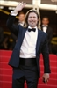 Actor Brad Pitt waves as he arrives for the screening of Killing Them Softly at the 65th international film festival, in Cannes, southern France, on Tuesday.