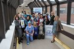 Milton staff get behind Our Hospital, Our Home campaign