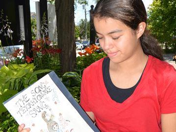 Flamborough Centre grad pens graphic novel on life of E. Pauline Johnson