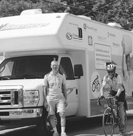 Team cycles coast to coast for clean water; Cyclists' goal of $510K wi– Image 1