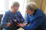 Special mitts designed to comfort Midland residents with Alzheimer's