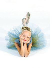 Lit Britain dancer in Nutcracker