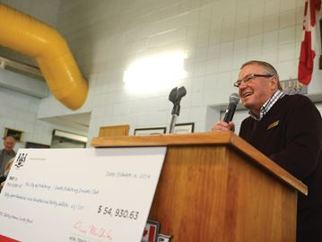 Seniors' funding announcement