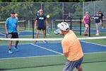 Tiffin Park pickleball courts officially open in Midland