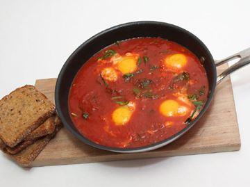Tuesday's Chefly Eggs + Toast