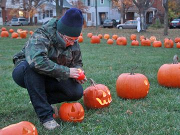 Jack-o-lanterns get second chance to shine