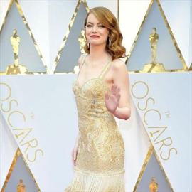 Emma Stone's short celebration-Image1