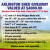 Arlington Shed Contest