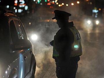 Cops arrest drunk pedestrian during RIDE check