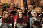 Durham Philharmonic Choir rehearses Royal Fireworks