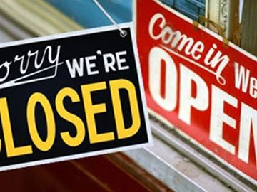 What's open; what's closed
