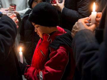 Vigil held in Milton for victims of Peshawar attack