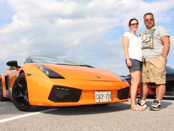 Wasaga couple launches exotic car tour business