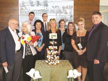 TD Canada Trust branch hosts 65th wedding anniversary