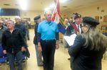 Midland Legion's new president inducted