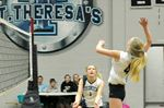 St. Theresa's High School Thunder beaten in senior girls volleyball