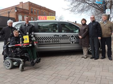 Ace Cabs takes over Collingwood's accessible shuttle service