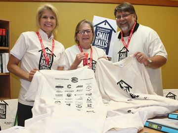 Clearview Township's small halls celebrated