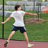 Uxbridge Tigers play tennis