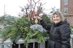 Port Hope Horticultural Society Christmas baskets