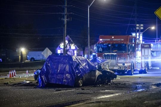 four people dead following fiery crash brampton