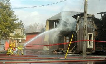 Plattsville fire