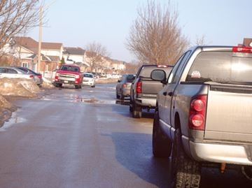 On-street parking causing havoc, say Natalie Court residents