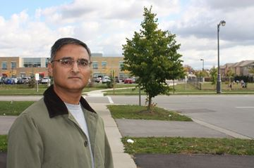 Markham parent Naeem Siddiqi