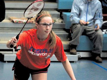 Local badminton teams battle in Barrie for spot at OFSSA