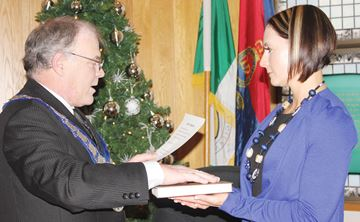 Lanark County's new warden