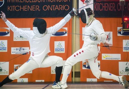Hundreds Of Swords Clash In Kitchener For Fencing
