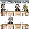 Today's cartoon: Debate formats