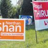 Scarborough-Rouge River byelection signs