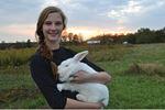 Experiencing agriculture through rabbit raising