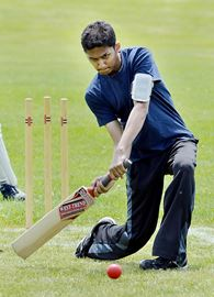 Cricket Comes To Sharon