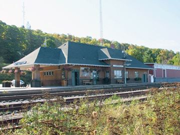 HUNTSVILLE CN TRAIN STATION