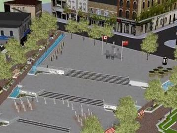 You can help name Barrie's new downtown square