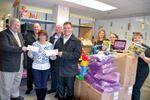 Community generosity fills Christmas hampers