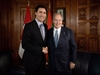 Trudeau and Aga Khan