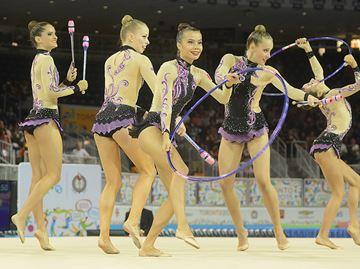 Double bronze rhythmic team
