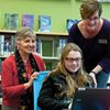 Grimsby teens get new library space