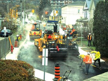 King Street reconstruction project