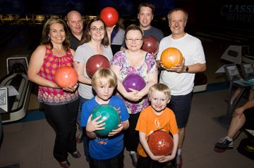 Peel Children's Centre bowling night