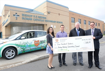Bishop reding student designs hydro car wrap for Sofa bed zuza