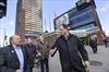 VIDEO: Waterloo planners, Hamilton mayor tour LRT route