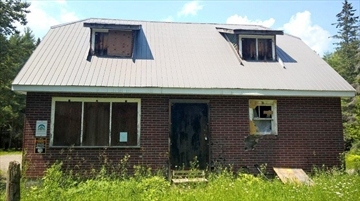 A crumbling house in the Peterborough County Forest in Havelock-Belmont-Methuen Township will soon be demolished.