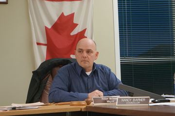 Powassan Mayor Peter McIsaac